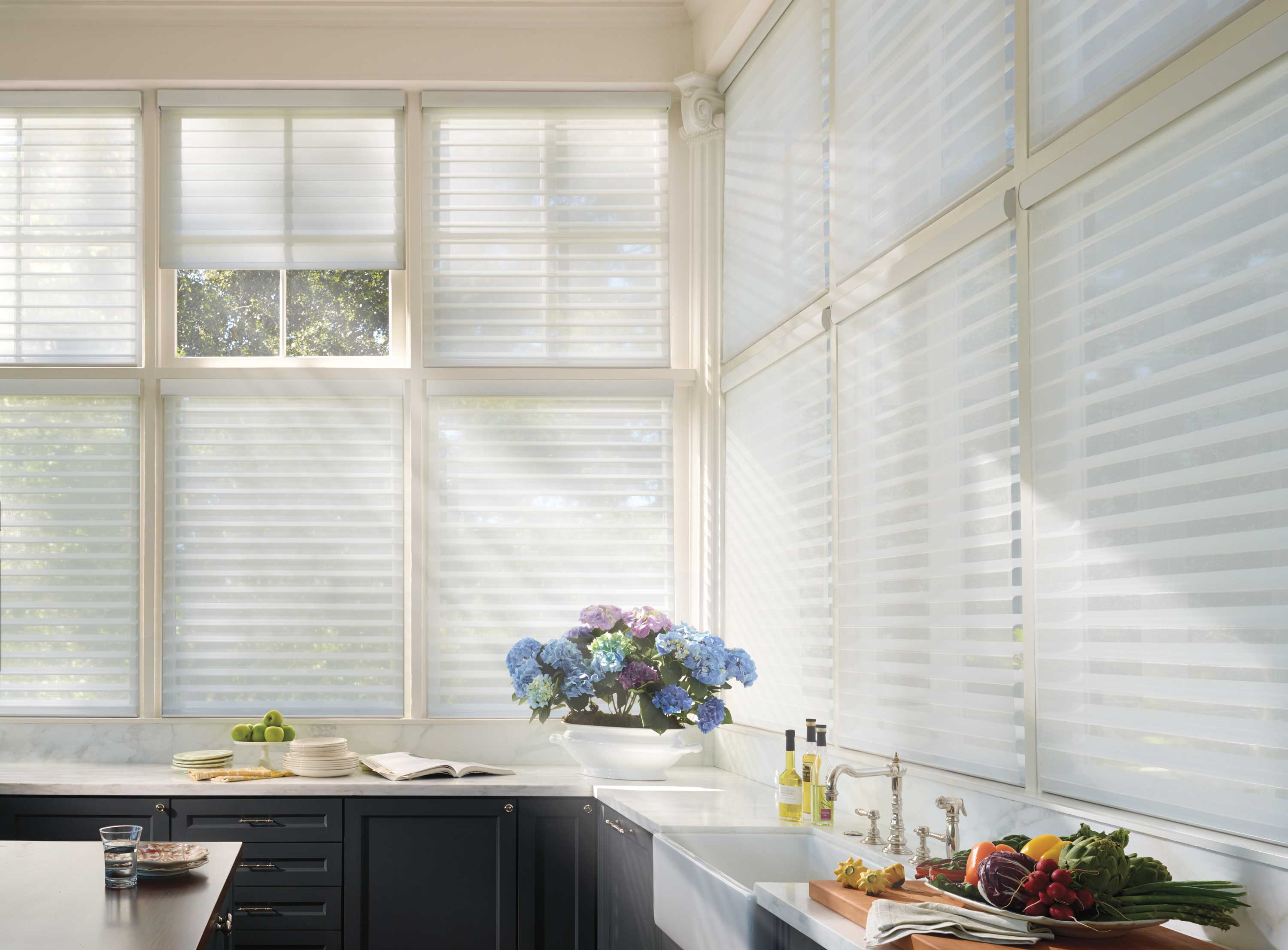 Hunter Douglas Silhouette Shades for Kitchens Near Fairfield and Fremont, California (CA)