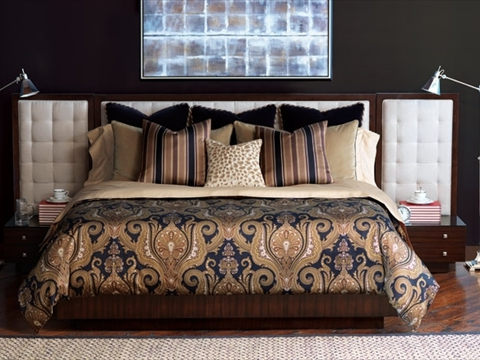 Custom Bedding for Bedrooms Near Fairfield and Fremont, California (CA) like Throw Pillows for Added Color