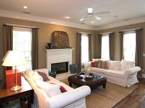 Custom Draperies and Treatments Near Fairfield and Fremont, California (CA) in Homes with Extensive Fabric Library