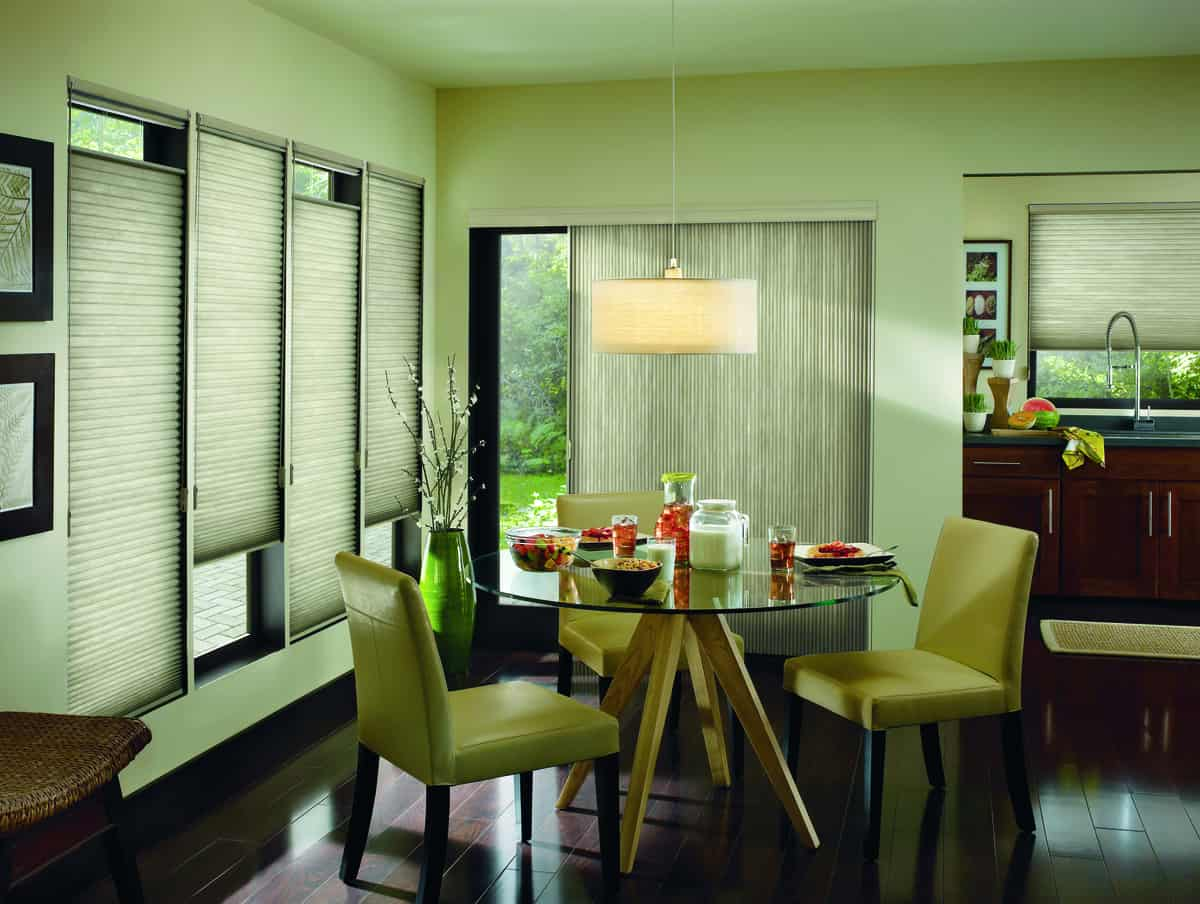 Advantages of Honeycomb Shades for Homes Near Fremont, California (CA) including Energy Efficiency and Privacy