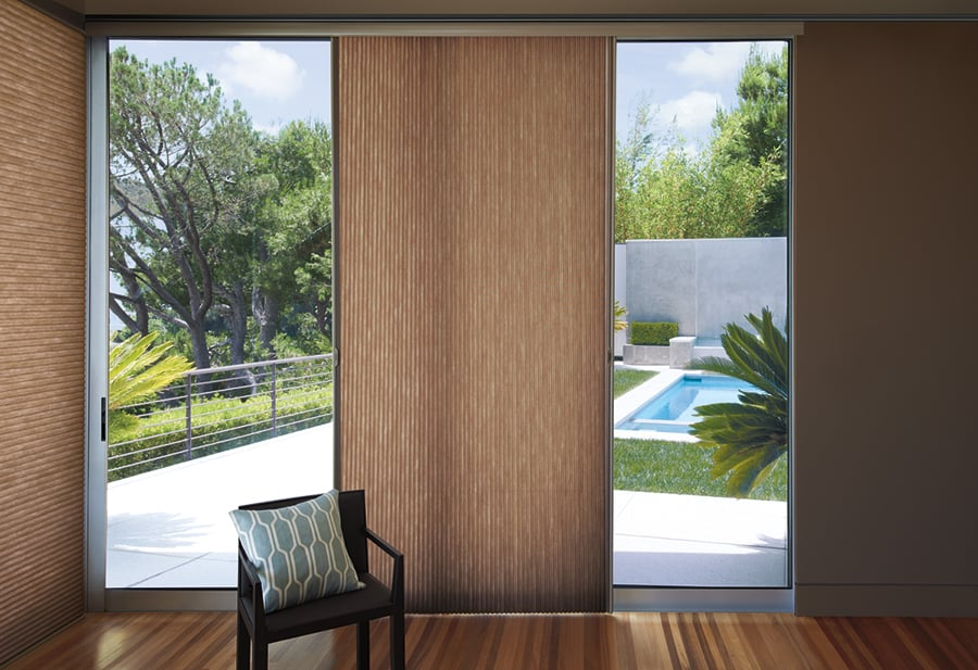 Adding honeycomb shades to your home near Fremont, California (CA) to add energy efficiency.