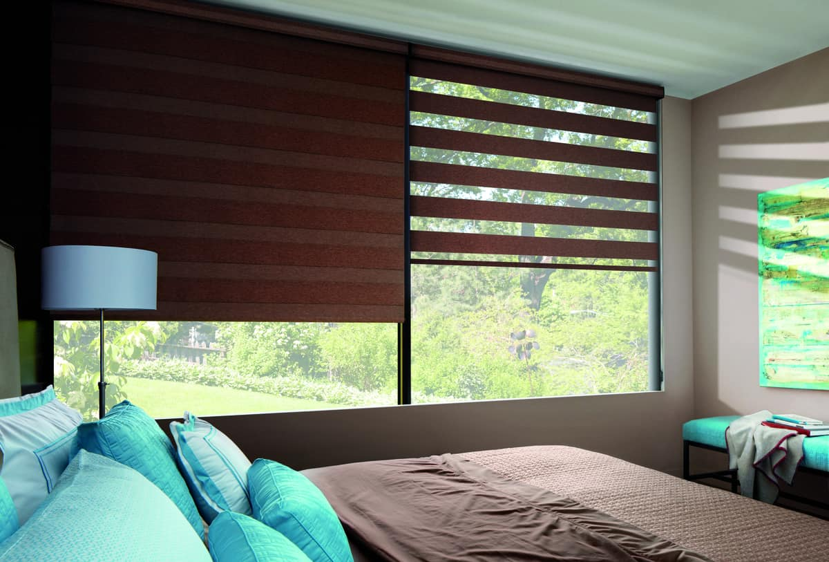 Adding Roller and Solar Screen Shades Near Fremont, California (CA) including UV Protection and Different Colors
